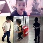 Baby của Hà Hồ: Kính phục gu thời trang