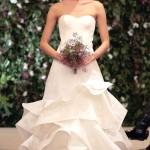 Những mẫu váy cưới mùa xuân 2016 đẹp lung linh - ảnh 1